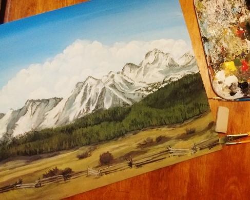 sawtooth-painting