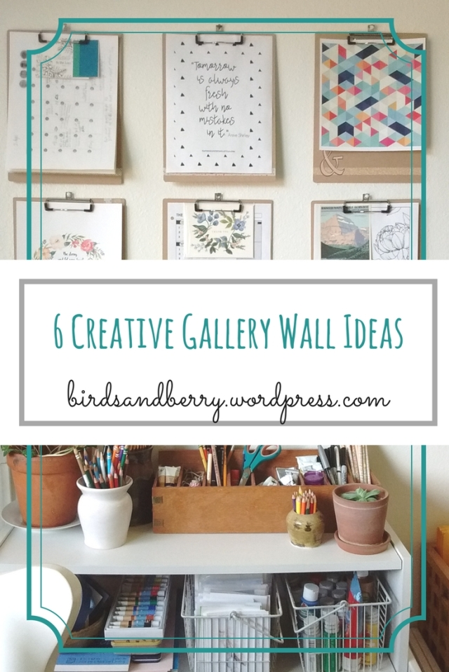 How to Brighten a Space with Gallery Walls - 6 Creative Gallery Wall Ideas