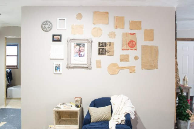 paper-bags-and-pictures-on-wall